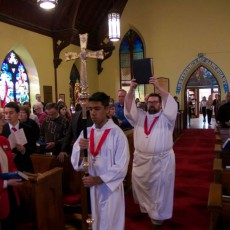 Gospel procession (SC)